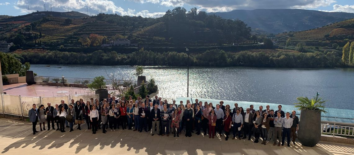 Group photo def 13-14 November joint WG + 3rd MC meeting Regua Portugal 2019